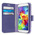 Belkin 2-IN-1 Wallet Folio Case for Samsung Galaxy S5 - Ink / Lavender