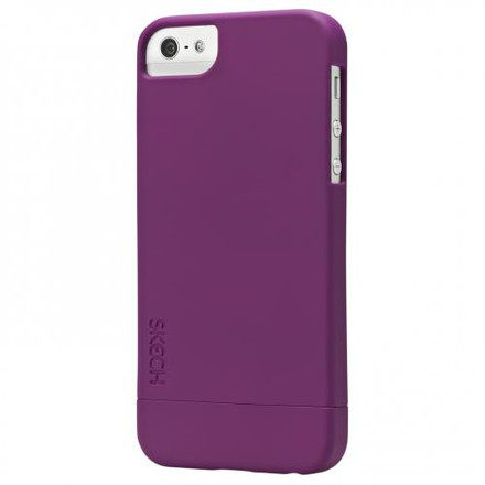 Skech hard rubber for iPhone 5S / 5 purple