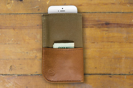 DODOcase Durables Wallet Sleeve for iPhone 5S / 5, 5C , 4S / 4