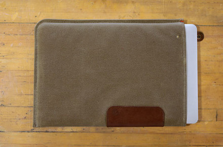 "DODOcase Durables Leather Sleeve for 11"" MacBook Air"