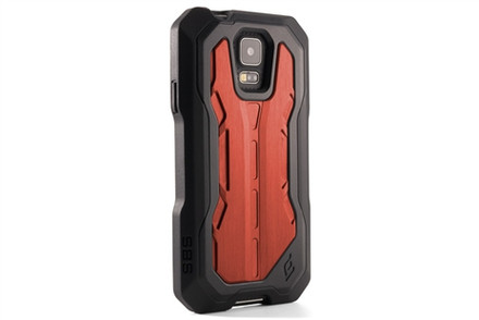 Element Case Recon Pro Case for Samsung Galaxy S5 - black / red