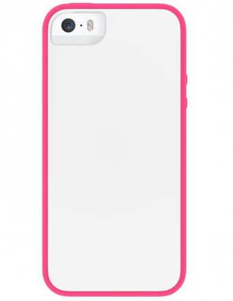 Skech Glow for iPhone 5S / 5 - White / Pink - IPH5-GLW-WPNK