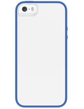 Skech Glow for iPhone 5S / 5 - White / Blue -  IPH5-GLW-WBLU