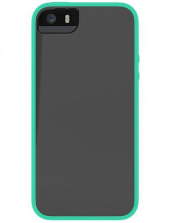 Skech Glow for iPhone 5S / 5 - Gray / Aqua Sky - IPH5-GLW-GSKY