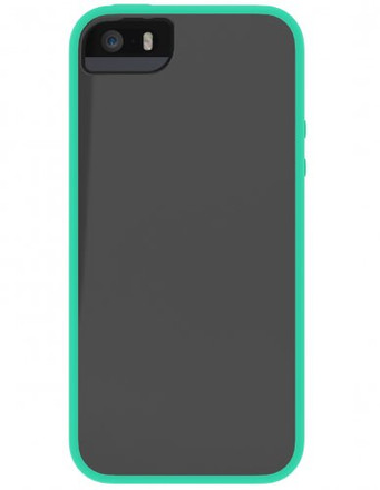 Skech Glow for iPhone 5S / 5 - Gray / Aqua Sky - IPH5-GLW-GSKY