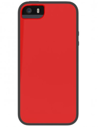 Skech Glow for iPhone 5S / 5 - Red / Black - IPH5-GLW-RBLK