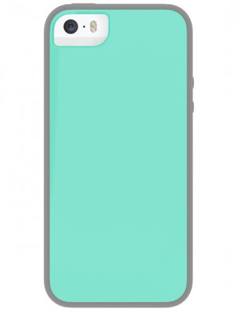Skech Glow for iPhone 5S / 5 - Aqua Sky / Gray - IPH5-GLW-AGRY