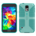 Speck CandyShell Grip for Samsung Galaxy S5 - Green / Blue