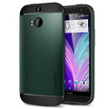 Spigen Slim Armor Case for HTC One (M8) - Aintree Green
