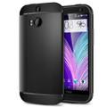 Spigen Slim Armor Case for HTC One (M8) - Smoot Black