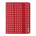 Incase Canvas Maki Jacket for iPad 2, 3, and 4 - Strawberry/White Small Dot