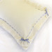 Decorative Boudoir Pillow in Honeycomb with Merry-Go-Round & Lullaby