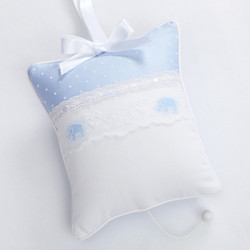 "Musical Pillow in ""Pitter Patter"" & ""Primel"" with 'Elephant' & 'Lullaby'"