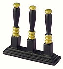 Black / Gold Beer Pumps