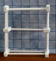 Small White Towel Rail