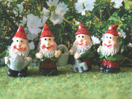 Set Of Four Gnomes