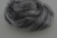 Dark Grey Dolls Mohair Wigging hair