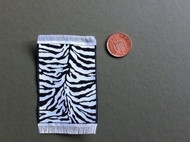 Small Mat / Rug Zebra Pattern