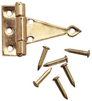 T Hinges Gold 4 Pack