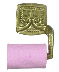 Gold Toilet Roll Holder