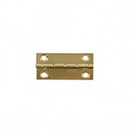 Pair of Brass Butt Hinges 25mm x 12mm