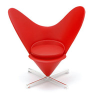 Heart Cone Chair By Verner Panton 1959