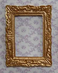 One Ornate Golden Picture Frame