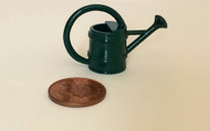Small Green Metal Watering Can