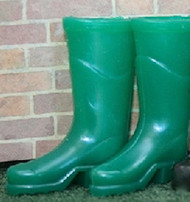 Pair Green Wellingtons