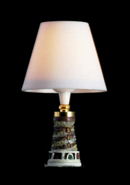 Table Lamp in the Design of a Lighthouse