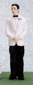 Ben The Groom in a Tuxedo made of Resin