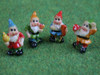 Set Of Four Assorted Gnomes