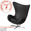 Arne Jacobsen Egg chair In Black (Limited Edition)