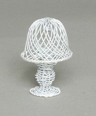 White Wire Table  Lamp