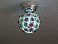 LED Powered Disco Colour Changing Light
