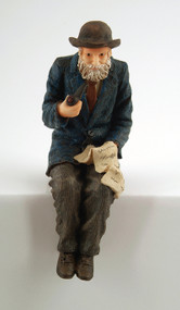 Grandfather Sitting Figurine