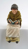 Resin Doll Grandmother Sitting