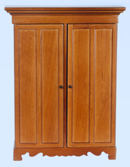 Detailed Lincoln Wardrobe / Walnut