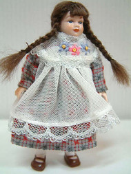 Heidi Ott Doll Young Girl with  Braided Hair