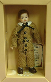 Heidi Ott Doll, Young Boy in a Brown Outfit