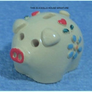 Dolls House Miniature Piggy Bank