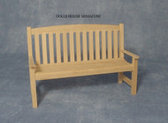 Plain wood Garden Bench