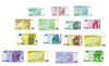 21 Euro's European Currency