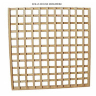 Trellis Panel Natural Wood Finish 150mm x 150mm
