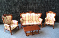 Elegant Victorian Four Piece Suite