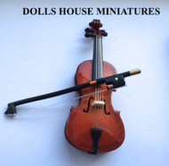 1/12 Scale Cello & Case