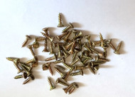 Fifty Pozi Flat Countersunk  Screws M2.5 x 10