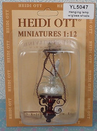 Hanging Oil Lamp In Mahogany Bronze Finish 12 Volt
