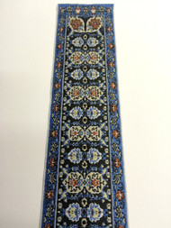 Turkish Stair Carpet Blue Design