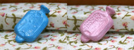 Blue or Pink Hot Water Bottle